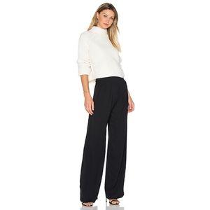 NWOT Parker Eldora Black High Waist Wide Leg Pants